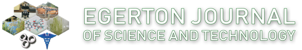 Egerton Journal of Science & Technology